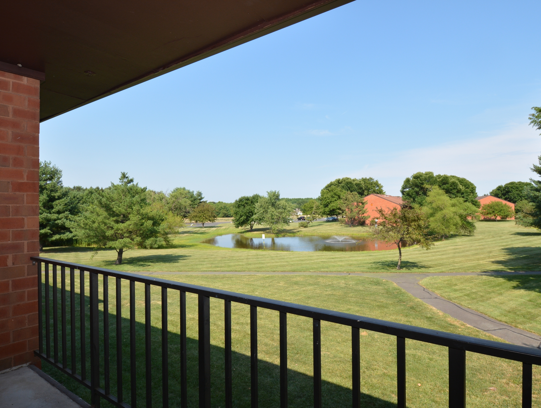 Princeton Orchards Balcony View | Apartments for Rent in South Brunswick, NJ