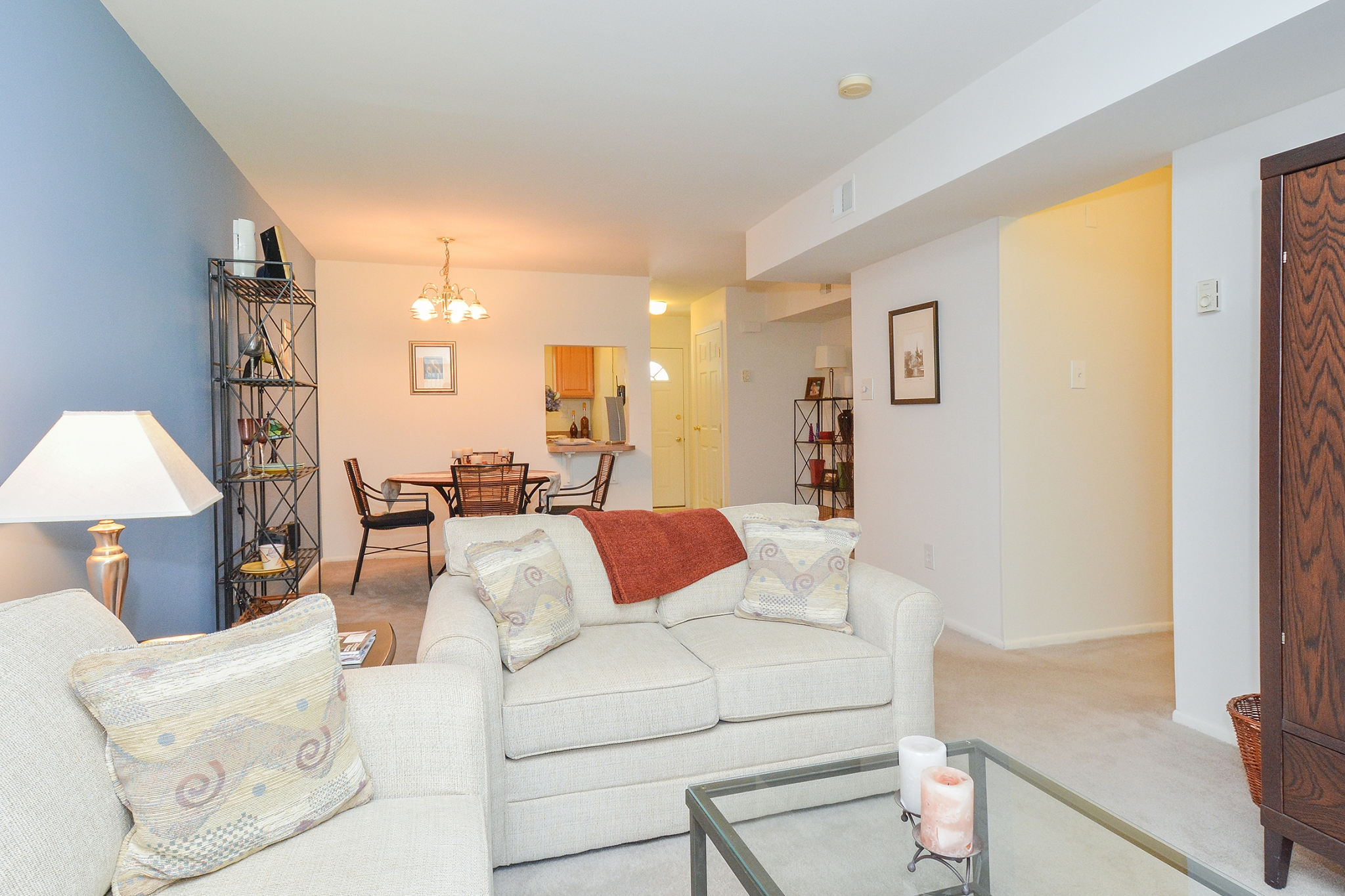 Wyntre Brooke Sample Living and Dining Room | Apartments Near West Chester
