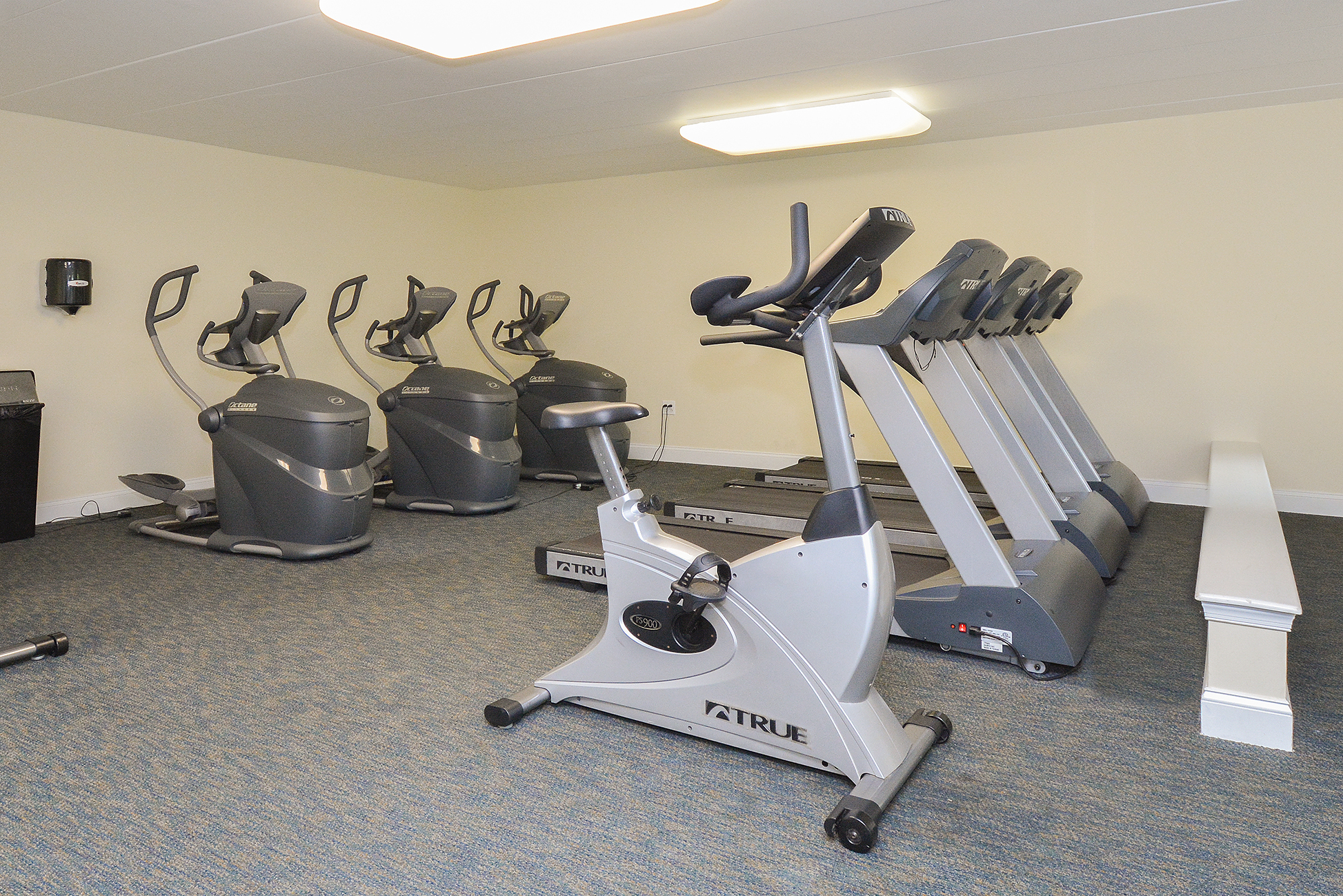 Fairway Park Fitness Center with Cardio Machine | Apartments Near Wilmington DE