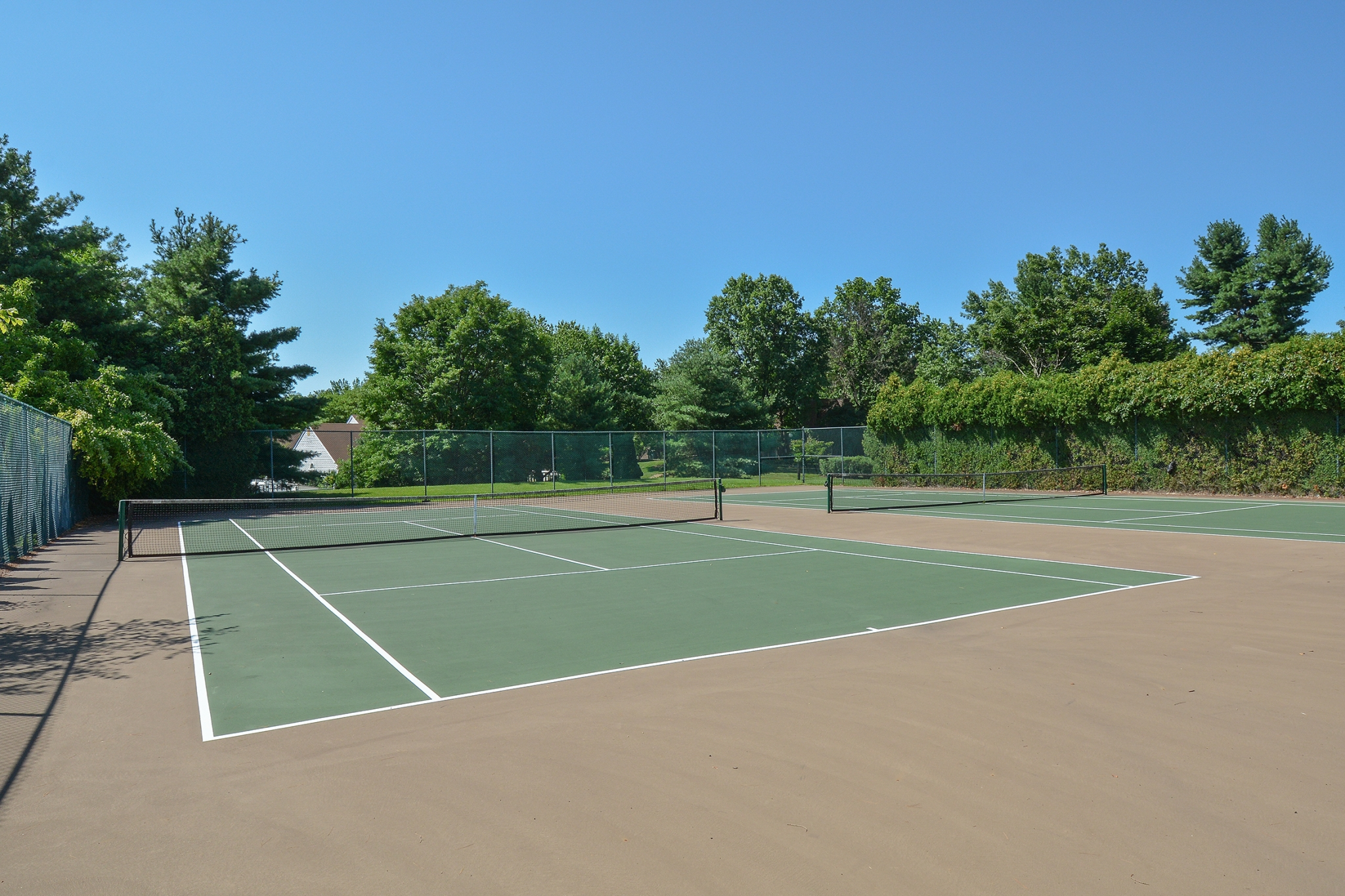 Community Tennis Court | Apartments In Langhorne PA | Summit Trace Apartments