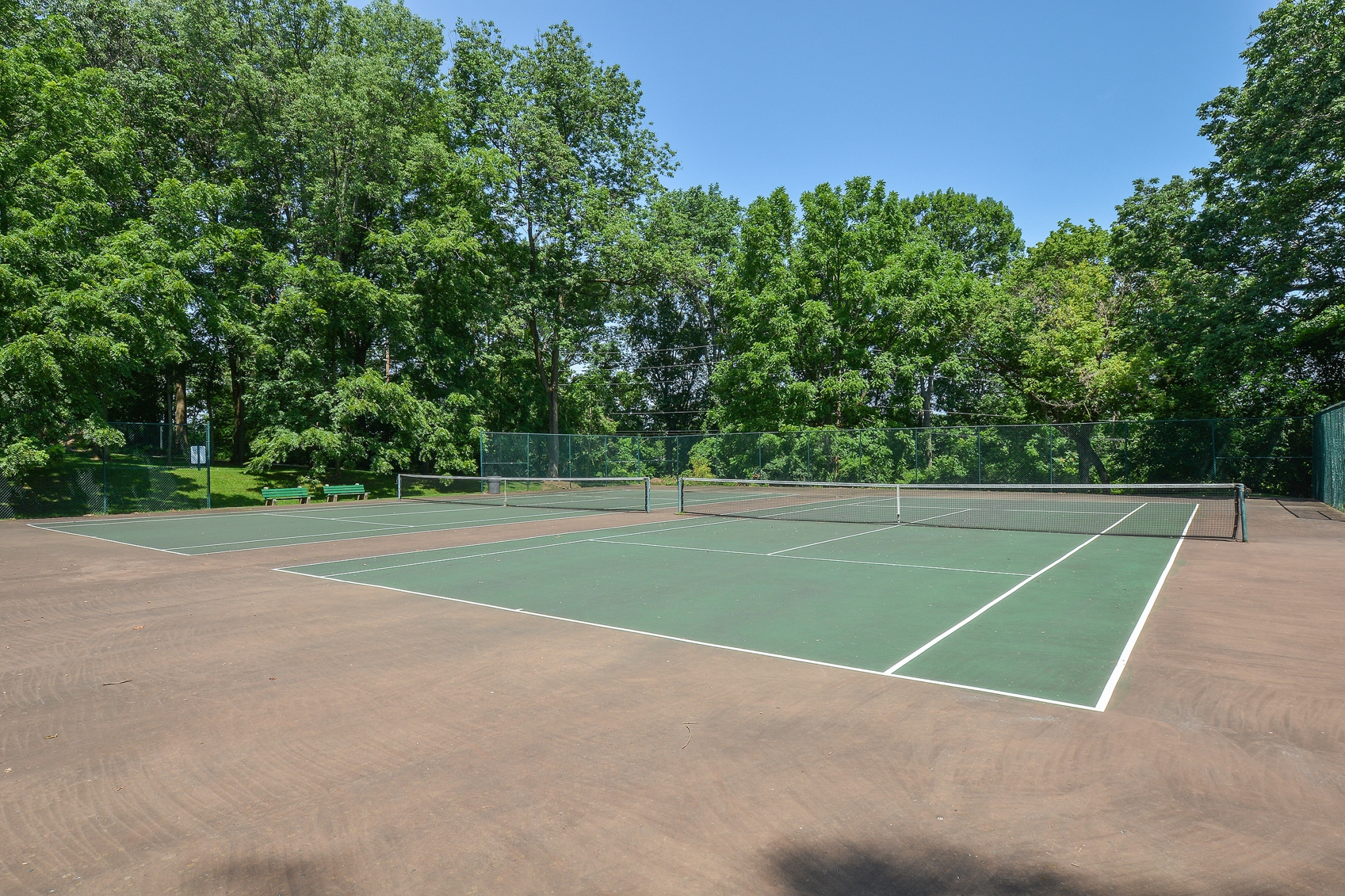 The Lafayette at Valley Forge Tennis Courts | King of Prussia Apartment Rentals