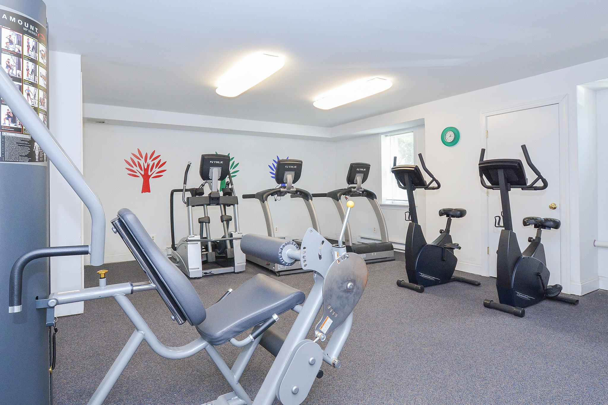 Cedar Tree Village Fitness Center with Leg Curl and Leg Extension Machine | Apartments Near Wilmington, DE