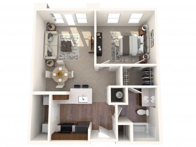 The Broad Floor Plan