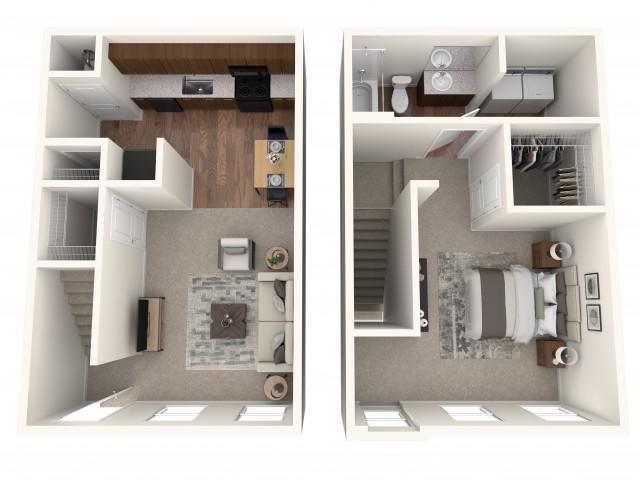 The Burke Floorplan