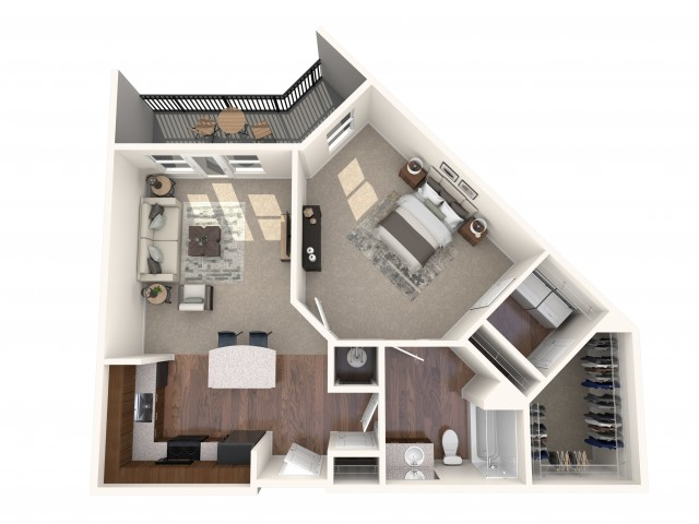 The Backlick Floorplan
