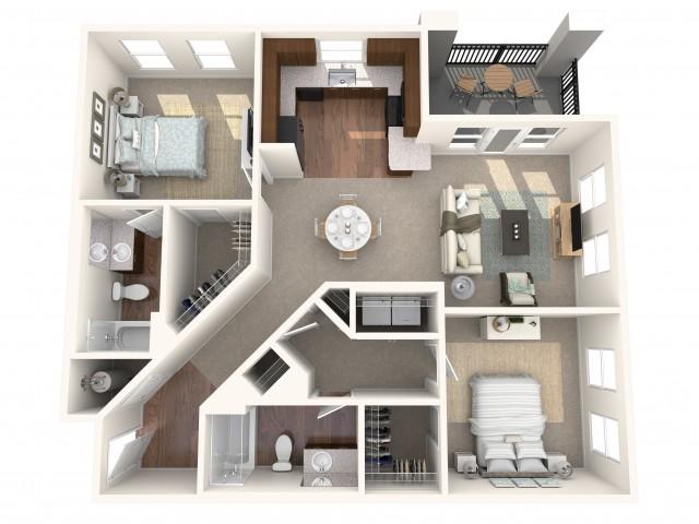 The L\'Enfant Floorplan