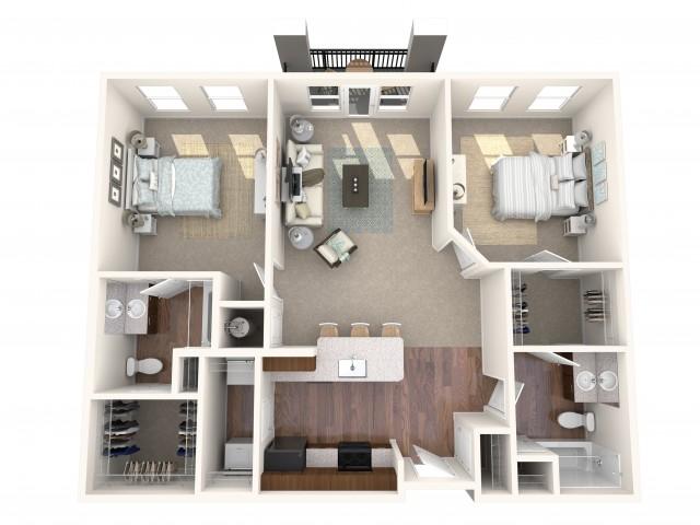 The Crystal Floorplan