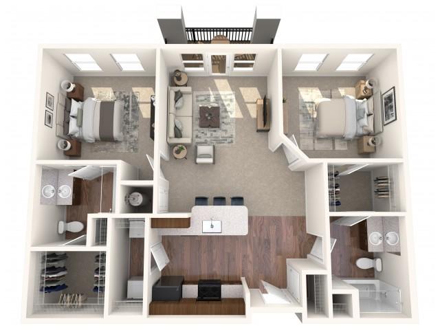 The Alexandria Floorplan