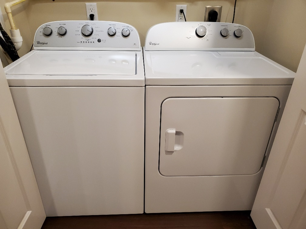 Resident Washer and Dryer Unit