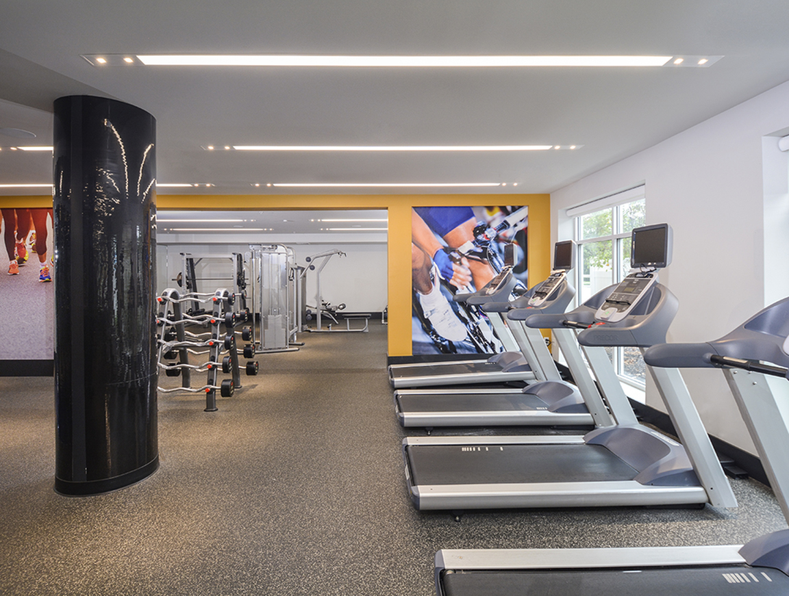 Fitness Center Open 24 Hrs at The Point at Glen Mills