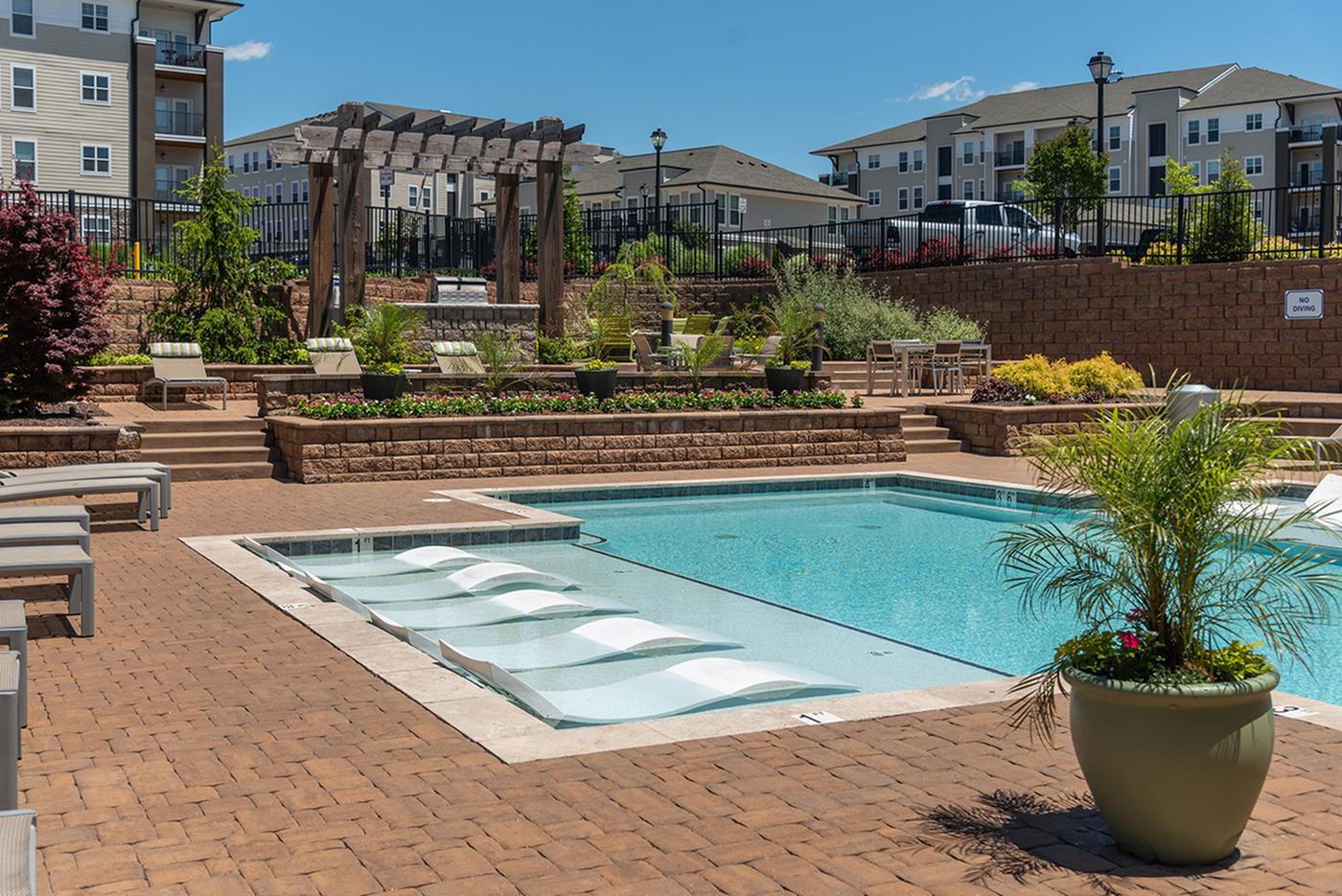 Resort Style Pool 1