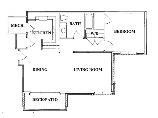 ONE BEDROOM APARTMENT