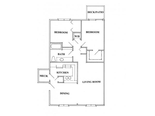 1 Bedroom Den