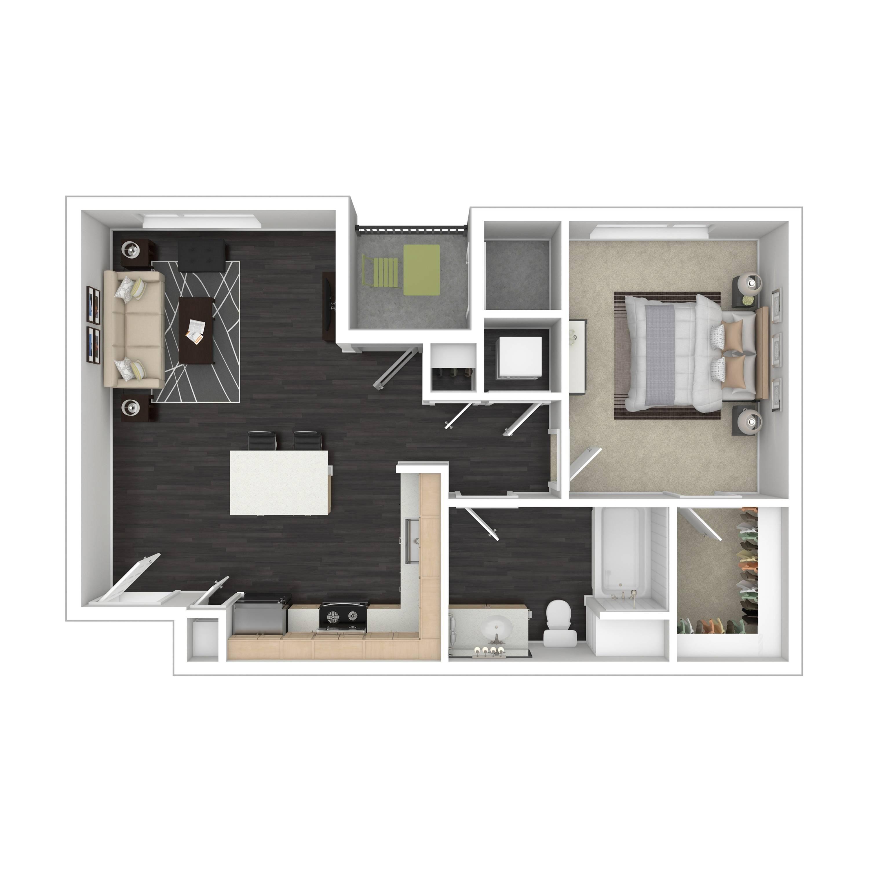 1A | Parq at Iliff | Aurora Apartments