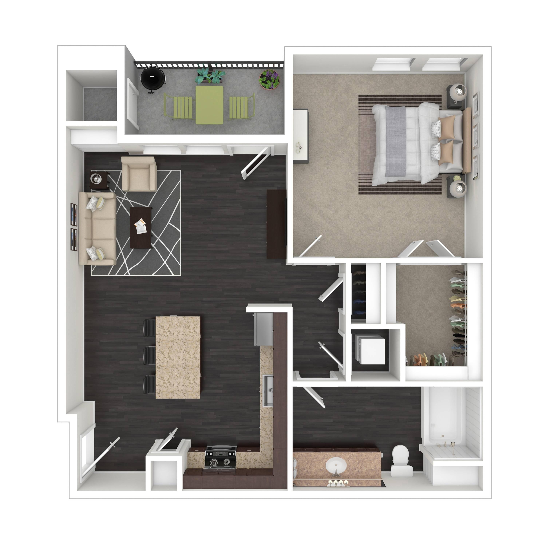 1B  | Parq at Iliff | Aurora Apartments