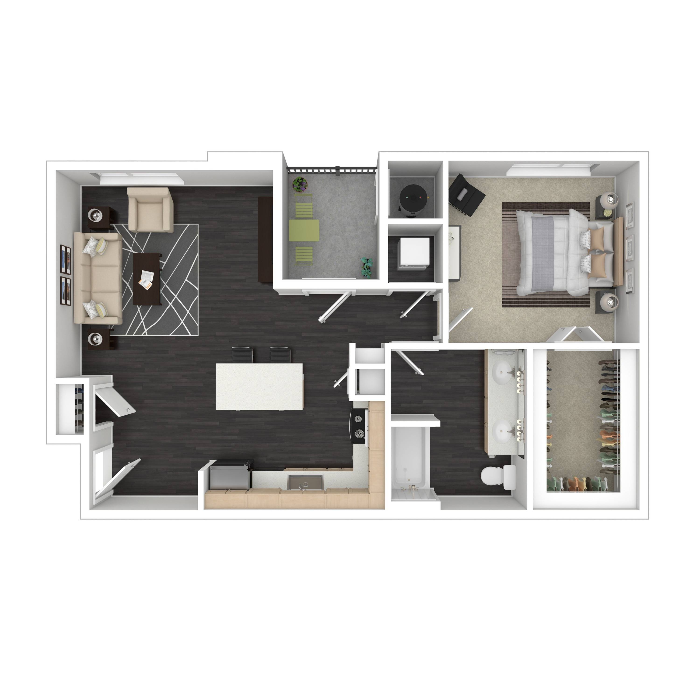 1C  | Parq at Iliff | Aurora Apartments