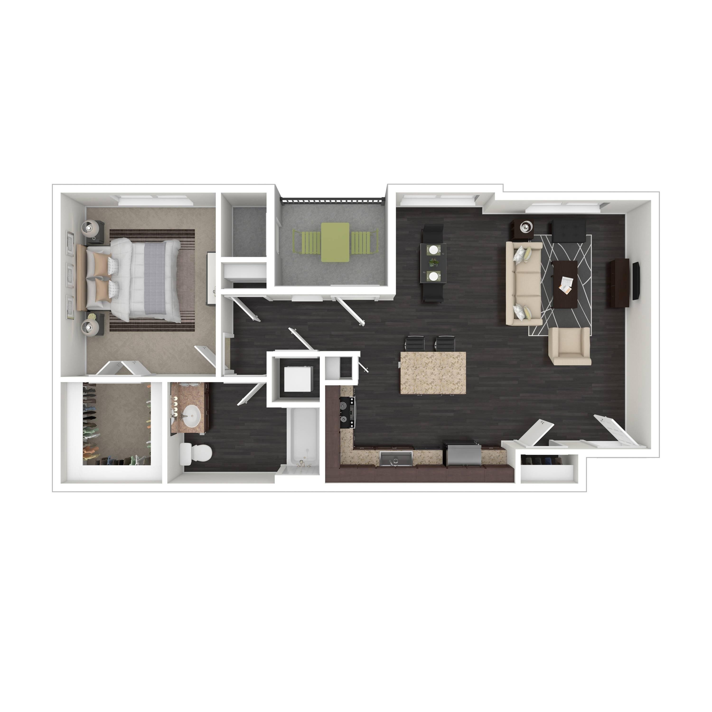 1D | Parq at Iliff | Aurora Apartments