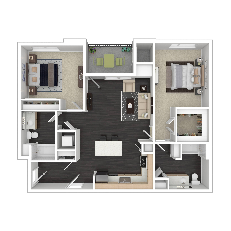 2A | Parq at Iliff | Aurora Apartments