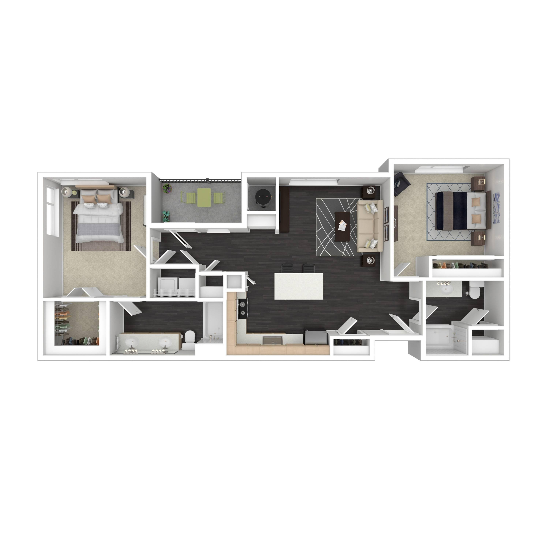 2C | Parq at Iliff | Aurora Apartments