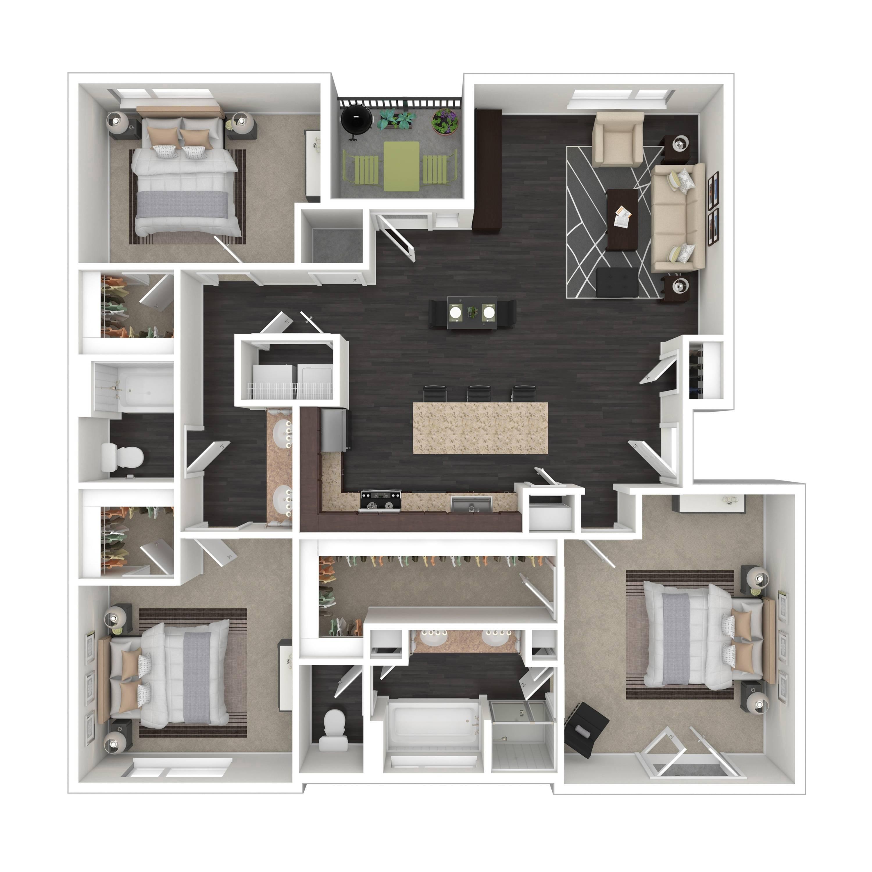 3A | Parq at Iliff | Aurora Apartments