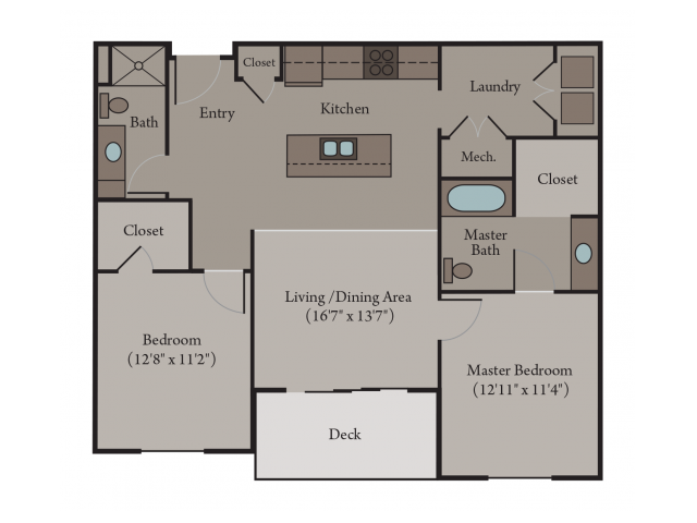 Venice A - Accessible 2 Bed, 2 Bath