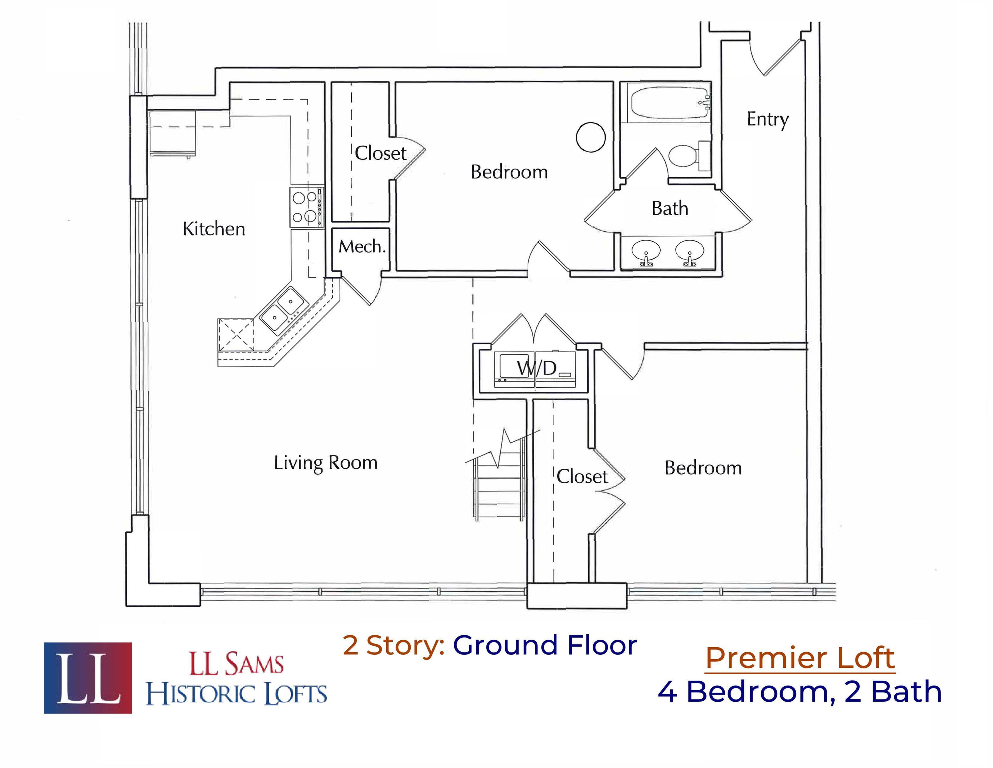 Premier 4-2 Ground Floor Plan