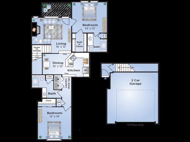 Prestonwood Floor Plan Layout