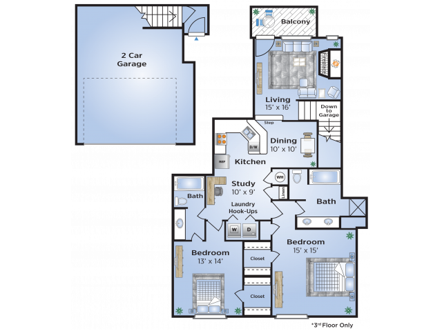 Addison Floor Plan Layout
