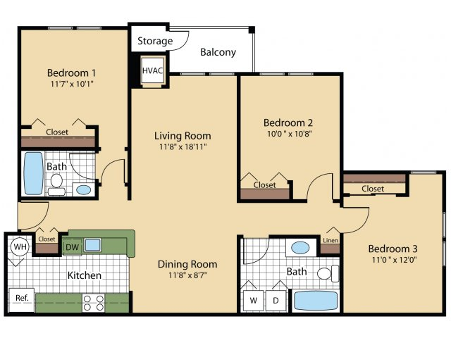Floor Plan 3 | Reserve at Ballenger Creek