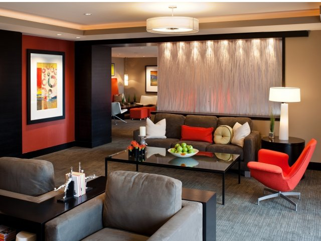 Image of Clubroom with Gaming Area for Meridian at Pentagon City
