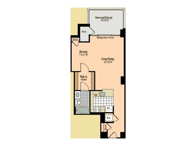Floor Plan 7 | Meridian at Braddock Station