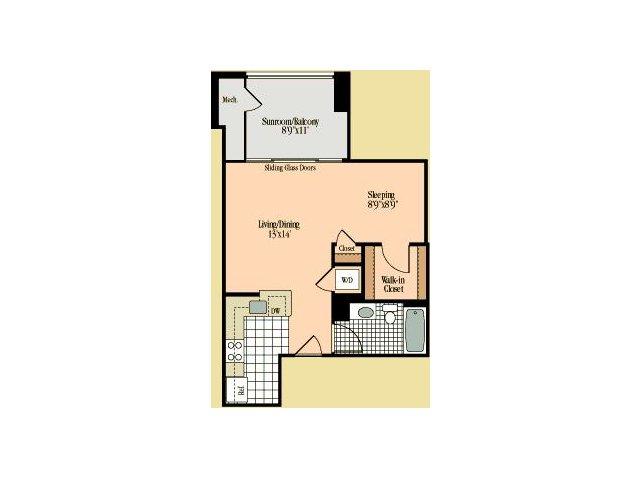 Floor Plan 6 | Meridian at Braddock Station