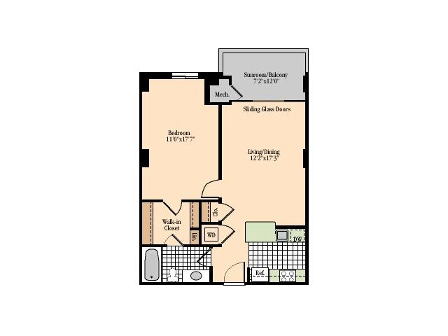 Floor Plan | Meridian at Braddock Station