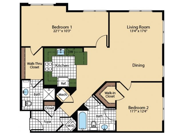 Floor Plan | The Madison at Ballston Station
