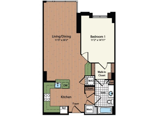 Floor Plan 11 | Meridian at Mt Vernon Triangle