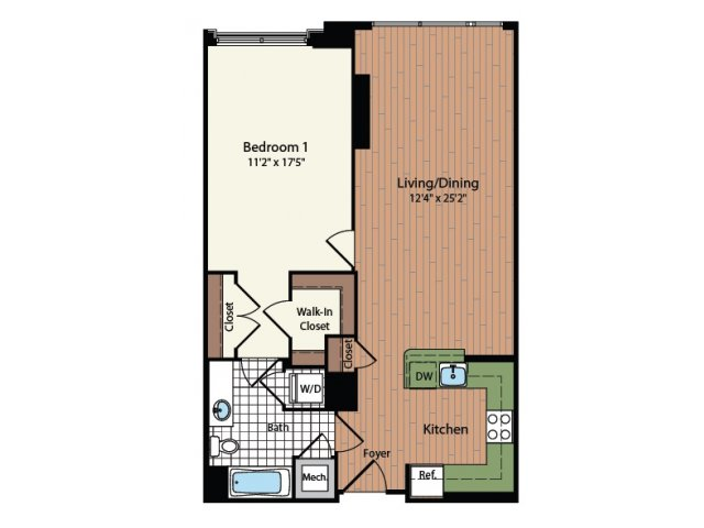 Floor Plan 5 | Meridian at Mt Vernon Triangle