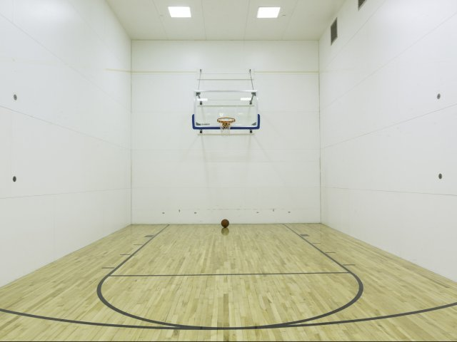 Image of Basketball Half Court for Meridian at Courthouse Commons