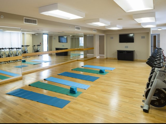 Image of Aerobics Room with Classes for Meridian at Courthouse Commons