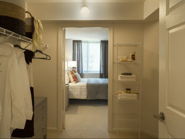 Image of Walk-In Closets for Meridian at Courthouse Commons