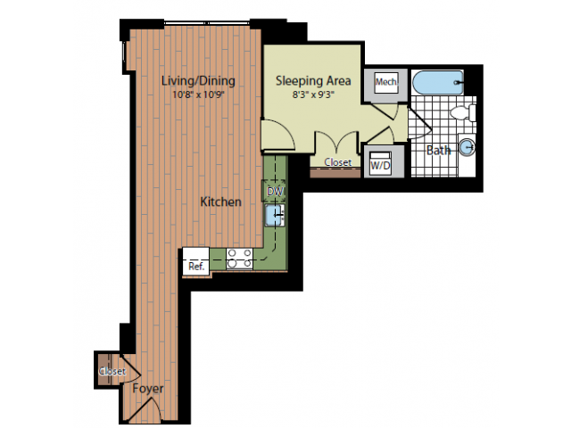 Floor Plan 3 | Parc Meridian at Eisenhower Station