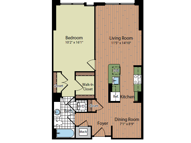 Floor Plan 4 | Parc Meridian at Eisenhower Station