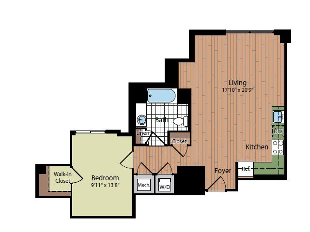 Floor Plan 3 | Parc Meridian at Eisenhower Station 3