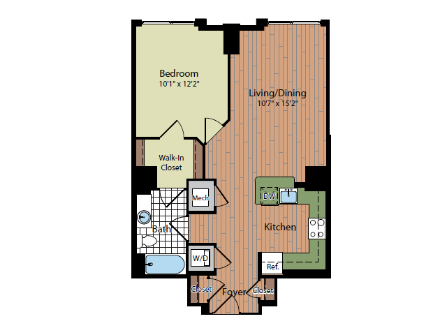 Floor Plan 6 | Parc Meridian at Eisenhower Station 3