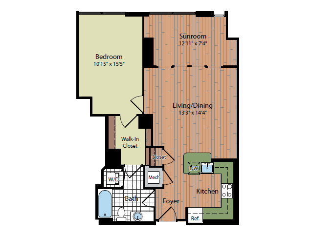 Floor Plan   Parc Meridian at Eisenhower Station 4