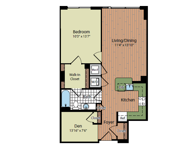 Floor Plan | Parc Meridian at Eisenhower Station 8