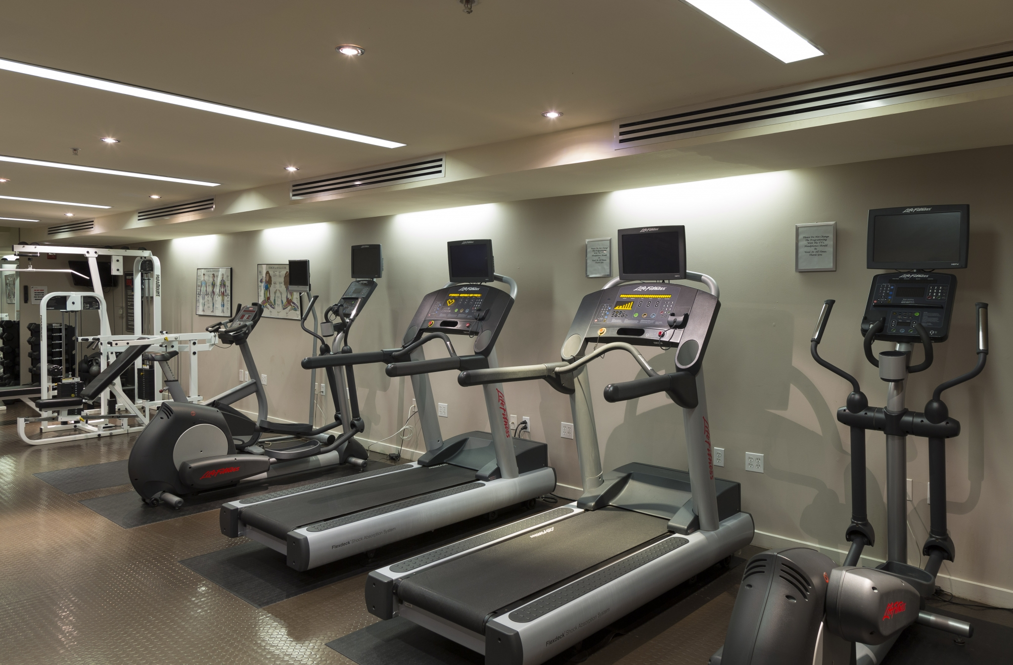 Cutting Edge Fitness Center | Apartments For Rent Washington DC | Park Triangle Apartments Lofts and Flats