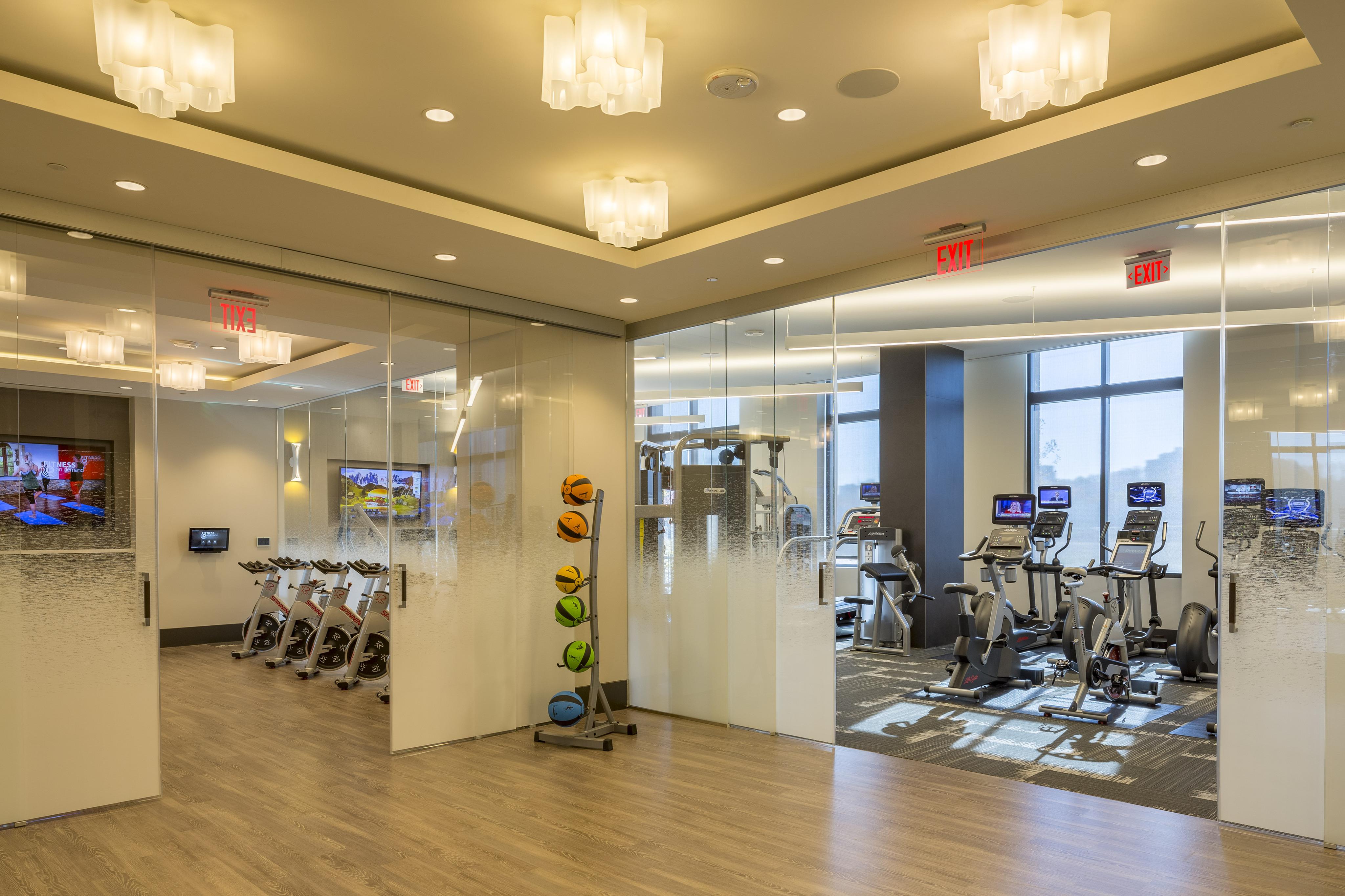 ... Fitness Center ...