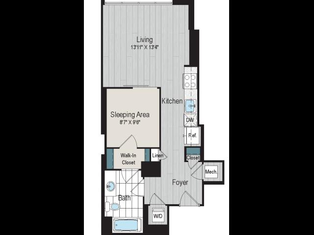 SD-1a floorplan