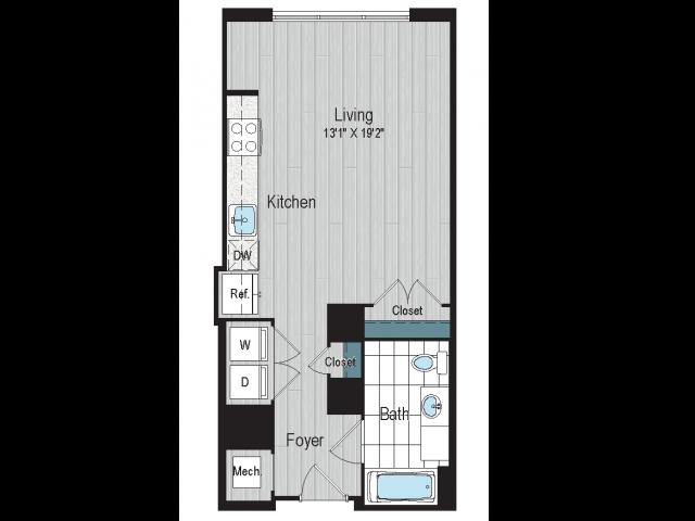 SD1b Type A Floorplan