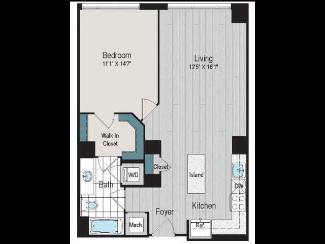 1B4a floorplan